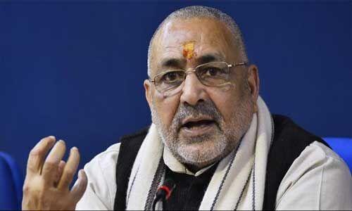 गिरिराज सिंह ने कहा - देवबंद है आतंकवाद की गंगोत्री