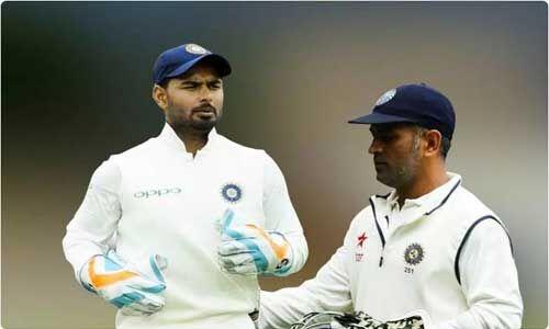 पंत ने धोनी को छोड़ा पीछे, सबसे तेज कैच लेने का बनाया रिकॉर्ड