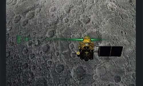 इसरो ने ट्वीट कर कहा  - चंद्रयान-2 मिशन में हमारे साथ खड़े होने के लिए धन्यवाद