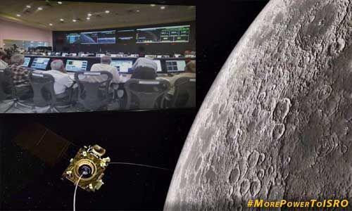 चन्द्रयान मिशन : अभी भी लैंडर विक्रम से संपर्क की उम्मीद