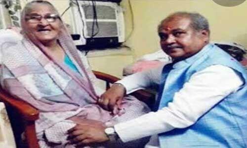 केन्द्रीय मंत्री नरेन्द्र सिंह तोमर की माताजी का निधन