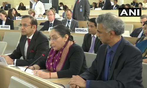 यूएनएचआरसी में भारत का पाक को करारा जवाब, दुनिया इस बात से भलीभांति वाकिफ