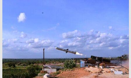 भारत ने दिखाया दम, एंटी टैंक मिसाइल का किया सफल परिक्षण