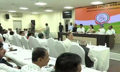 AICC : सोनिया गांधी ने कहा - खतरे में लोकतंत्र, जनादेश का हो रहा गलत इस्तेमाल
