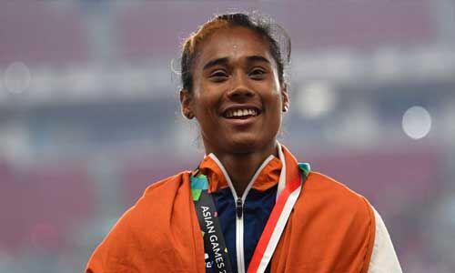 भारतीय युवा धाविका हिमा दास बनी गेटोरेड इंडिया की ब्रांड एंबेसडर