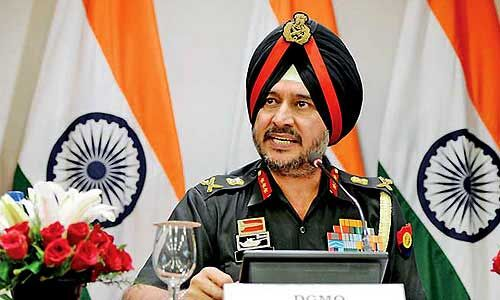 पाक की एलओसी से हो रही घुसपैठ की लगातार कोशिशों को किया नाकाम : लेफ्टिनेंट जनरल सिंह