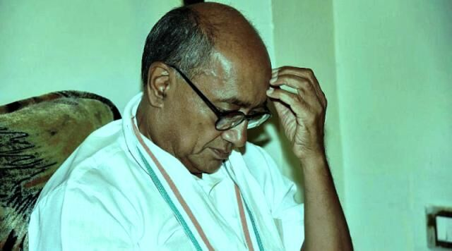 कांग्रेस नेता दिग्विजय सिंह के खिलाफ मामला दर्ज