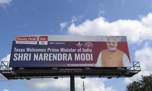 #HOWDYMODI : प्रधानमंत्री मोदी के स्वागत को ह्यूस्टन तैयार, ट्रंप भी साझा करेंगे मंच