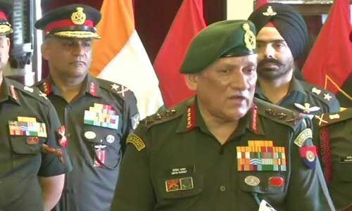 बालाकोट में फिर सक्रिय हुए आतंकी, होगी एक और एयरस्ट्राइक : सेना प्रमुख