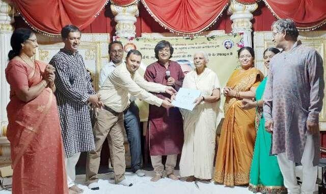 नेहरू मेमोरियल राष्ट्रीय संग्रहालय पहुंचीं पंडित रघुनाथ जी की हस्त लिखिल पांडुलिपियां
