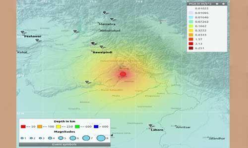 पाकिस्तान में भूकंप से मारने वालों की संख्या हुई 31