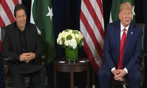 अमेरिकी राष्ट्रपति ने इमरान के सामने पाकिस्तानी पत्रकारों को लगाई फटकार