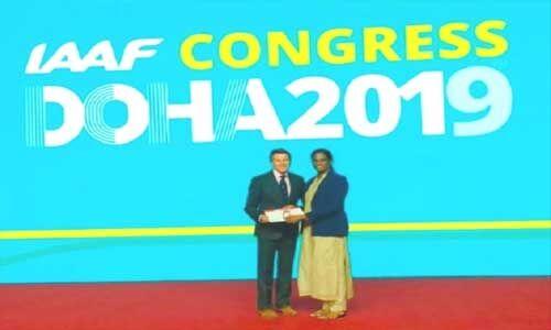 IAAF वेटरन पिन पुरस्कार से सम्मानित हुईं पीटी ऊषा