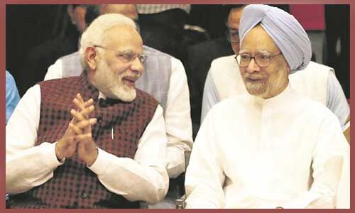 प्रधानमंत्री मोदी ने दी मनमोहन को जन्मदिन की बधाई