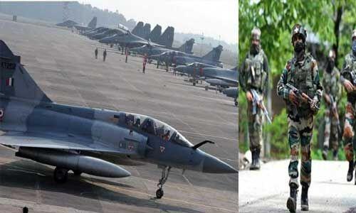 वायु सेना ने आतंकी हमलों के खतरे को देखते हुए की चाक चौबंद व्यवस्था