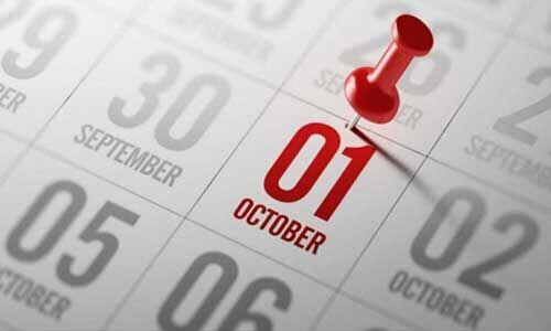 1 अक्टूबर से बदलेंगे यह नियम, जानें