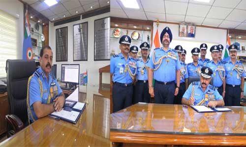 आरकेएस भदौरिया ने संभाला भारतीय वायु सेना प्रमुख का पदभार