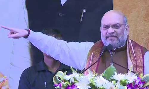 पश्चिम बंगाल में अमित शाह, बोले - हिंदू शरणार्थी को जाने नहीं देंगे, घुसपैठिए को रहने नहीं देंगे