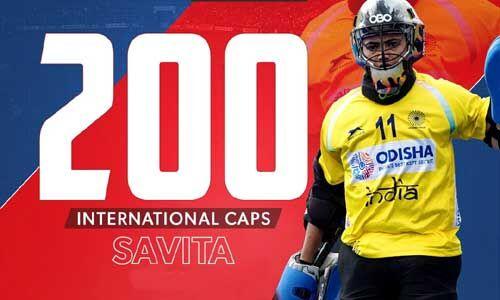 गोलकीपर सविता को 200 अंतरराष्ट्रीय मैच पूरा करने पर हॉकी इंडिया ने दी बधाई