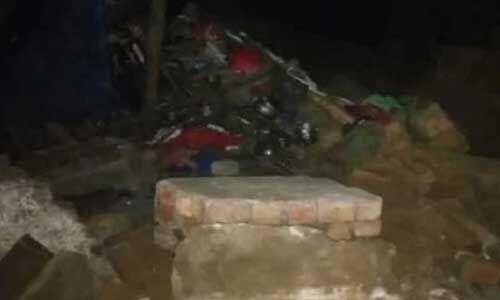 अंबाला कैंट में दीवार गिरने से तीन बच्चों समेत पांच लोगों की मौत