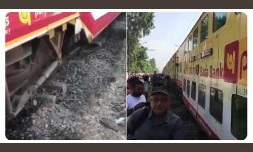मुरादाबाद के पास लखनऊ-आनंद विहार डबल डेकर ट्रेन पटरी से उतरी, कोई हताहत नहीं