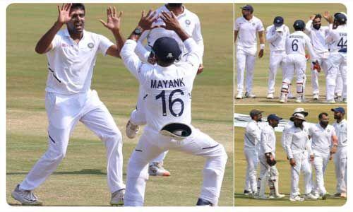 पहले टेस्ट में भारत ने साउथ अफ्रीका को हराया, सीरीज पर 1-0 से किया कब्जा