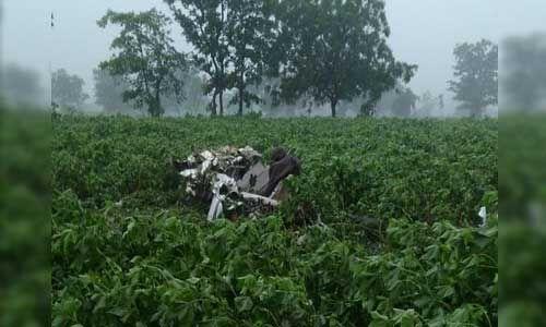 वायुसेना का प्रशिक्षण विमान दुर्घटनाग्रस्त, दो पायलट शहीद