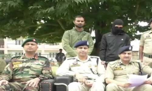 J&K : बारामुला से जैश-ए-मोहम्मद का आतंकी गिरफ्तार