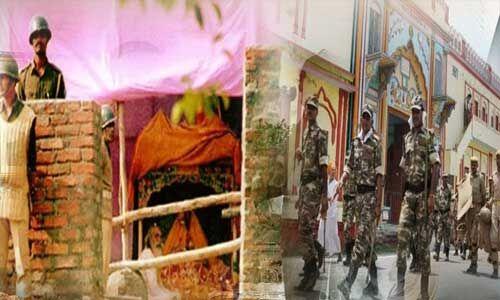 राम जन्मभूमि मामला : अयोध्या को हाई अलर्ट पर रखा, बढ़ाई सुरक्षा