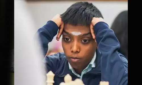 14 वर्षीय आर. प्रागनानंदा ने शतरंज में जीता गोल्ड