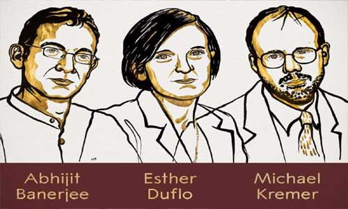 नोबेल पुरस्कार पाने वाले छठवें दम्पति बने बनर्जी-डफ्लो, पीएम मोदी ने दी बधाई