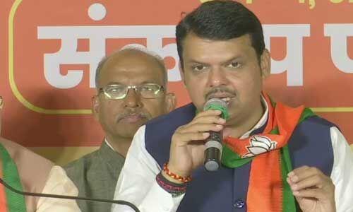 बीजेपी द्वारा जारी संकल्प पत्र में सूखामुक्त महाराष्ट्र का लेकर किया विशेष वादा