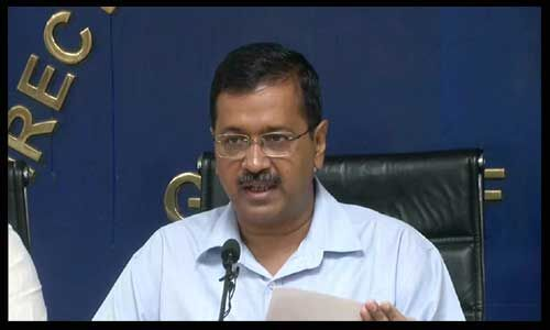 दिल्ली गैस चैंबर में बदल गई है : अरविंद केजरीवाल