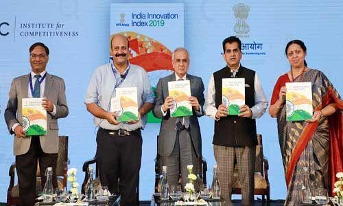 भारत इनोवेशन इंडेक्स (III) 2019 में कर्नाटक अव्वल, टॉप तीन में तमिलनाडु और महाराष्ट्र शामिल