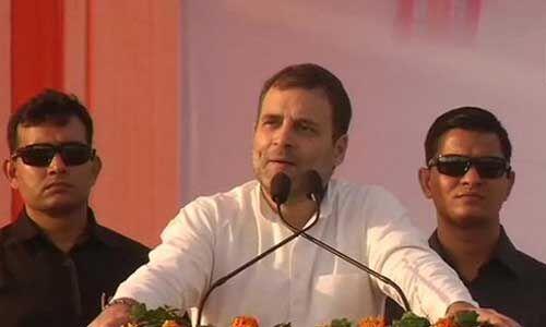 नोटबंदी और GST लागू कर अर्थव्यस्था को चौपट किया : राहुल गांधी
