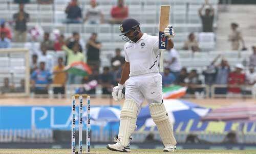 रोहित ने टेस्ट श्रृंखला में सर्वाधिक छक्के लगाने का रिकॉर्ड तोड़ा