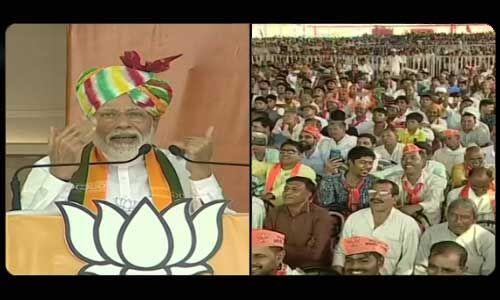 अनुच्छेद 370 पर कांग्रेस ने 70 वर्षों तक इस संबंध में कुछ नहीं किया : प्रधानमंत्री मोदी