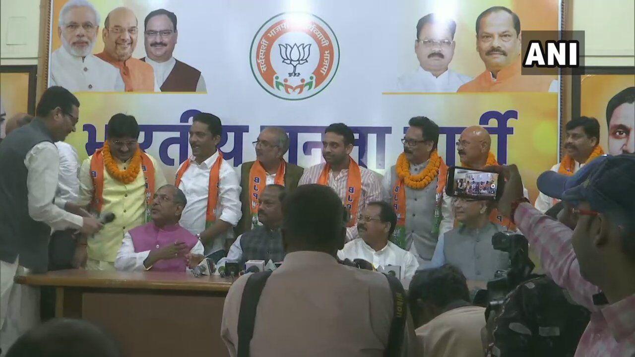 झारखंड में विधानसभा चुनाव से पहले भाजपा ने दिया कांग्रेस को बड़ा झटका