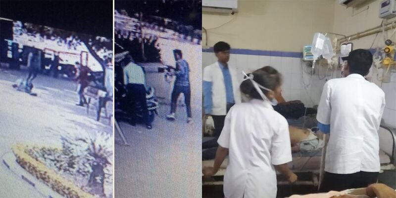 ग्वालियर : SBI की मुख्य शाखा में बदमाशों ने मुनीम को मारी गोली, 4.5 लाख रुपए लेकर फरार