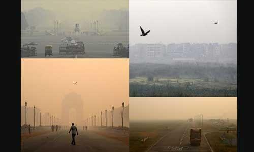 दिवाली के बाद दिल्ली और एनसीआर में वायु गुणवत्ता हुई