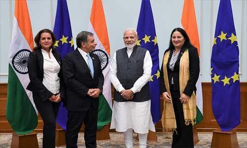 जम्मू कश्मीर में विदेशी दल का दौरा कल, प्रधानमंत्री से की मुलाकात