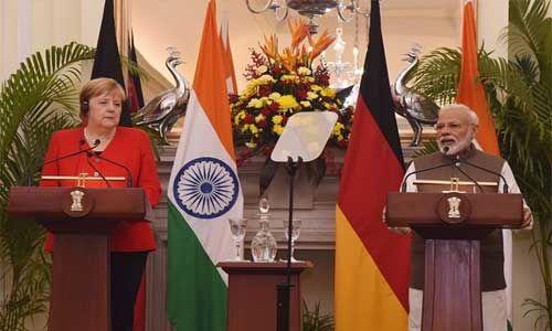 मोदी-मर्केल वार्ता : आतंकवाद से मिलकर लड़ेंगे भारत और जर्मनी