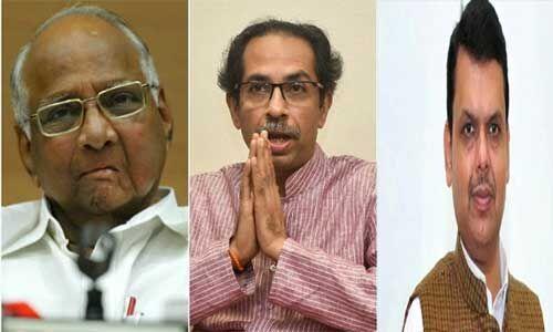 महाराष्ट्र में सरकार बनाने के लिए किंग मेकर की भूमिका में शरद पवार, बीजेपी की चिंता बढ़ी