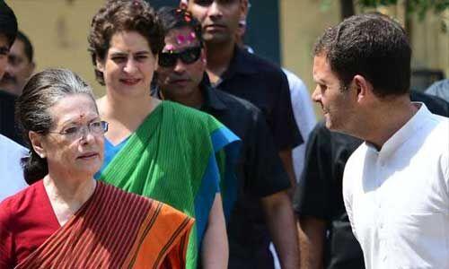 सोनिया, राहुल और प्रियंका गांधी से केंद्र ने एसपीजी सुरक्षा वापस ली