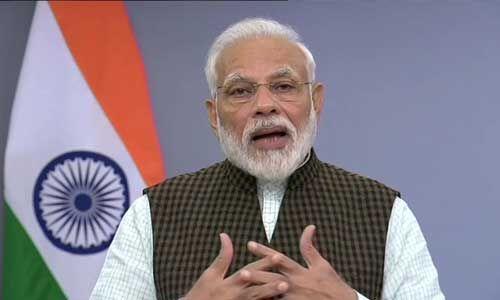 अयोध्या : दशकों तक चली न्याय प्रक्रिया खत्म हुई, दुनिया ने आज भारत के सद्भाव को देखा - पीएम मोदी