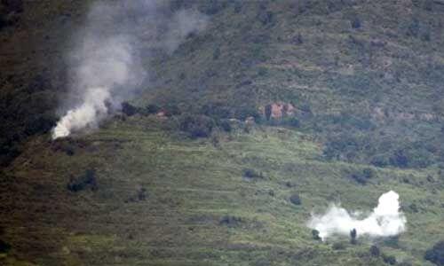 J&K में नियत्रंण रेखा पर पाकिस्तानी सेना ने की गोलाबारी