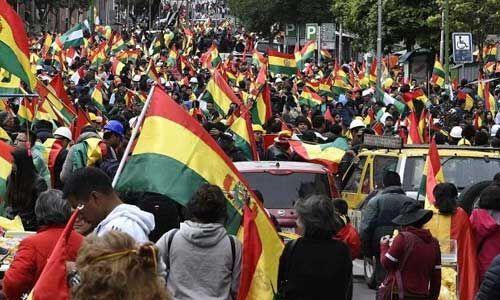 बोलिविया में प्रदर्शन और हिंसा में अब तक सात लोग की मौत