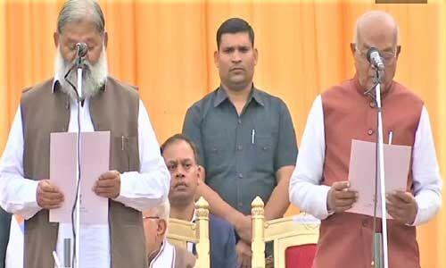 हरियाणा मंत्रिमंडल का हुआ विस्तार, 6 कैबिनेट और 4 राज्य मंत्रियों ने ली शपथ
