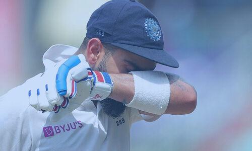 इंदौर टेस्ट : भारत को लगा तीसरा झटका, पुजारा के बाद कोहली आउट