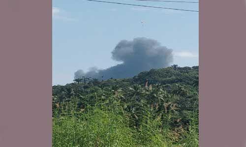 गोवा में मिग 29 लडाकू विमान हुआ क्रैश, दोनों पायलट सुरक्षित